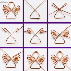 Diy wire jewelry - Holidays are coming, holidays are coming – Diy wire jewelry Wire Crafts, Jewelry Crafts, Christmas Crafts, Handmade Jewelry, Christmas Christmas, Jewelry Ideas, Jewelry Design, Handmade Gifts, Christmas Signs