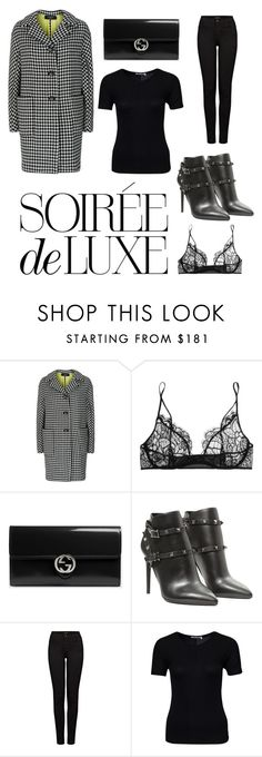"""All luxury"" by theresewiese on Polyvore featuring Weekend Max Mara, Kiki de Montparnasse, Bebe, Gucci, Valentino, J Brand and T By Alexander Wang"