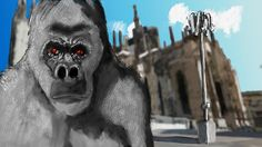 Project 'Planet of the apes' - challenge 03 by Mixmax3d.deviantart.com on @DeviantArt #digitaldrawing #digitalpainting #mixmax3d #planetofthefans