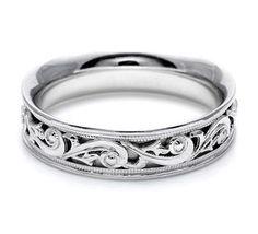 Tacori Mens Wedding Bands, Mens Wedding Rings HT2391
