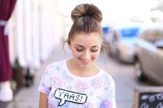 Double Fan Bun | Cute Girls Hairstyles