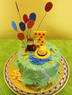 Curious George Cake cakepins.com