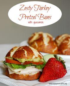 Gourmet homemade pretzel buns have never been so easy or delicious!