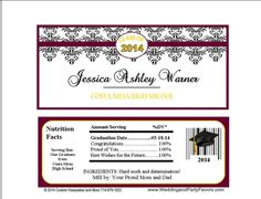 Graduation Candy Bar Wrappers Gra-1197-WP