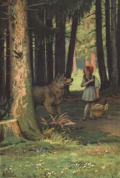 Otto Kübel - Red Riding Hood (1910) - 02