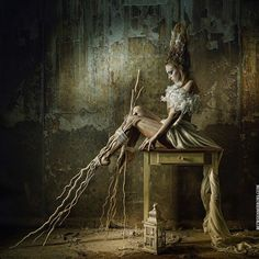 BetweenMirrors.com | Alt Art + Culture Collective: The Dark Fashion Photography of Stefan Gesell
