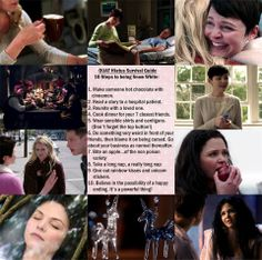 Week 4 of our #OnceUponATime Summer Hiatus Survival Guide! Submit photos of completed tasks at onceuponatimefans@gmail.com
