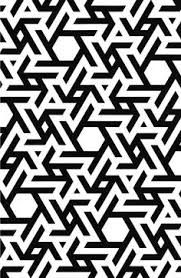 Resultado de imagen para geometric patterns black and white