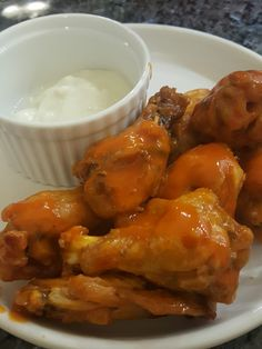 hot wings in the pressure cooker