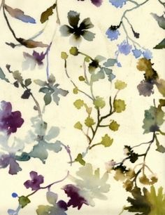 Floral water colors by loracia
