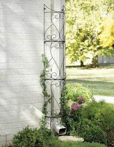 Metal Circular Outdoor Garden Trellis