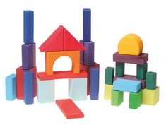 Grimms Geometric Blocks Coloured