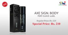 Shop Online for AXE Signature Body Perfume at Discounted Price on Kiraanastore.