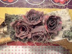 Martan Paja: Sytykeruusu tehtailua ja Teko-Ohjeet Diy And Crafts, Recycling, Christmas Decorations, Egg Cartons, Craft Ideas, Paper Board, Upcycle, Christmas Decor, Egg Boxes