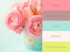 Spring is almost here! What room would this nature-inspired color palette look best in?