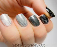 ombre stamps nail-crazy