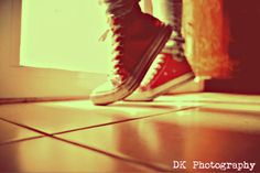 red all star converse <3 DK Photography