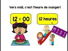 Capsule pour apprendre à lire l'heure (Heure juste et la demie-heure) Capsule, Lus, Autism, Math, Youtube, Index Cards, Exercise, Math Resources, Youtubers