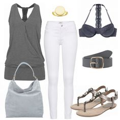 Sommer-Outfits: WeekendVibes bei FrauenOutfits.de #fashion #mode #damenmode #frauenmode #outfit #damenoutfit #frauenoutfit #sommer #sommer2018 #modetrend2018 #trend2018