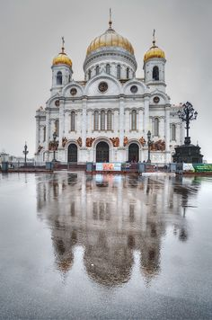 Rainy...The Cathedral of Christ the Savior (Moscow) | by Pavel K