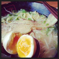 Shio Ramen with pork belly and egg ~~~@Brenda'n Lee Kinton Ramen