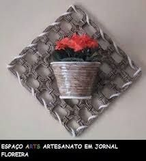 Resultado de imagen para cesteria en papel pinterest