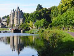 #Josselin et son #château médiéval