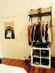Tipp von cacharel1989: Tolle Kleiderstange mit zusätzlichem Stauraum - Zimmerschau
