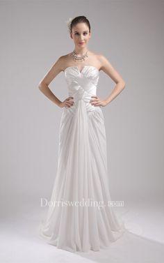 #Valentines #AdoreWe #Dorris Wedding - #Dorris Wedding Sleeveless Maxi Notched Gown With Pleats - AdoreWe.com