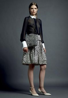 Women's fashion winter 2013 Valentino Resort - Via Woman