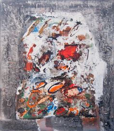 Abstract art by Vigintas Stankus | Oil on canvas  80x70