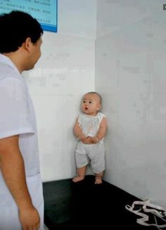 Scared baby