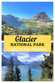 Guide and tips for visiting West Glacier National Park in Montana including a two-day itinerary. #findyourpark #glaciernationalpark #westglaciernationalpark #montanawithkids