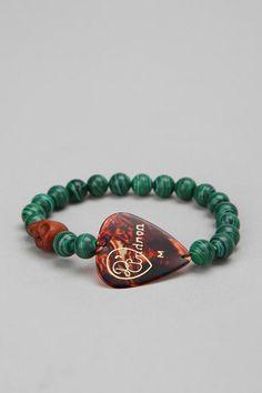 Fun guitar pick bracelet