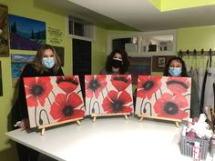 Always Learning, Poppies, Diana, Studio, Painting, Art, Art Background, Painting Art, Kunst
