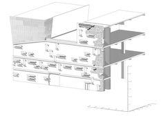 Full Wall Axonometric Section