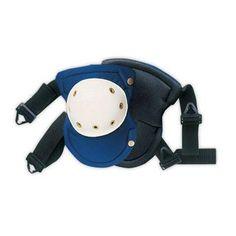 New 2 Pc Plastic Cap Knee Pads Heavy Duty Set Plumber Carpenters Builder Comfort