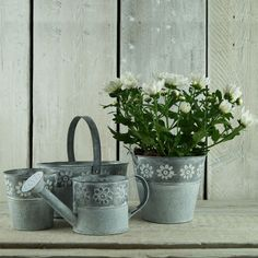 New for Spring 2016. Fun daisy zinc range. New for Spring. Fabulous plain or daisy zinc. http://www.thesatchvillegiftcompany.co.uk