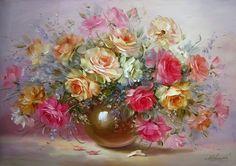 натюрморт цветы простой - Поиск в Google