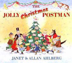 The Jolly Christmas Postman - A Christmas Story by Allan Ahlberg, Janet Ahlberg (Illustrator). Christmas books for kids.