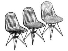 Eames wire chairs exclusively from Vitra in Europe and the Middle East
