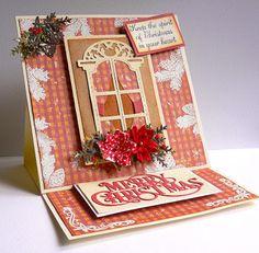 Artdeco Creations Brands: Joy to the World Layout + Bonus Easel Card by Adriana Bolzon