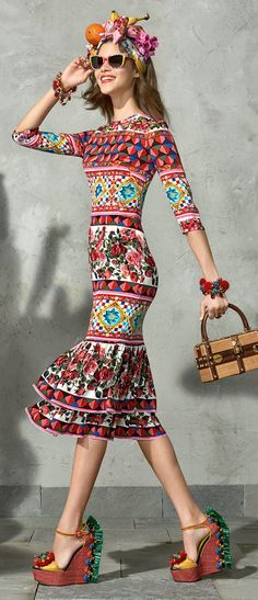 Dolce & Gabbana Spring Summer 2017 Collection Mambo