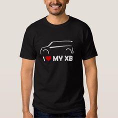 I Love (Heart) My Scion XB T-shirt