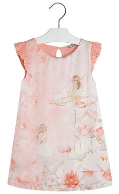 Button Tree Kids - Mayoral - Fairy Printed Dress 3919
