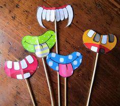 Lavoretti di Carnevale con materiale di riciclo - Lavoretto di Carnevale tipo maschera