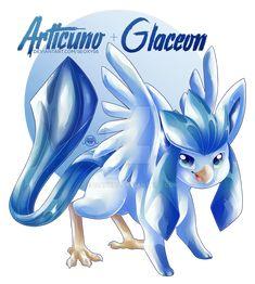 glaceon articuno fusion - Google Search Pokemon Fusion Art, Mega Pokemon, Pokemon Plush, Pokemon Funny, Cool Pokemon, Pokemon Stuff, Dragonair, Pokemon Gijinka, Original Pokemon