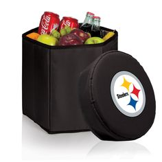 The Pittsburgh Steelers Bongo Cooler by Picnic Time