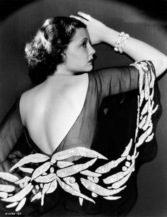Sylvia Sidney 1930s publicity photo by Vintage-Stars, via Flickr