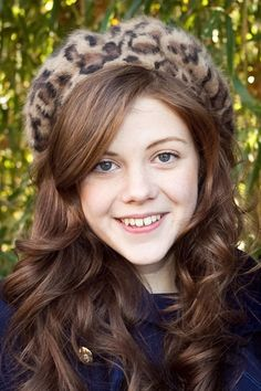Georgie Henley she is so pretty :)